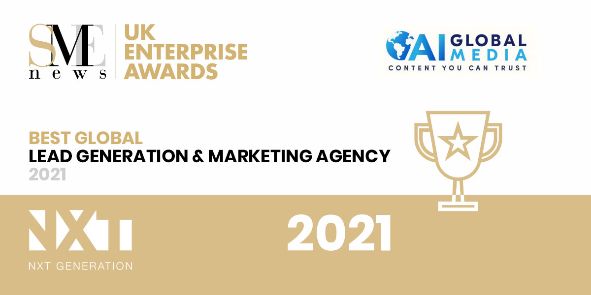 SME News Best Global Lead Generation and Marketing Agency Award 2021