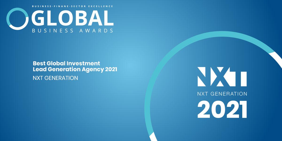 Best Global Lead Generation Agency Award Winner 2021